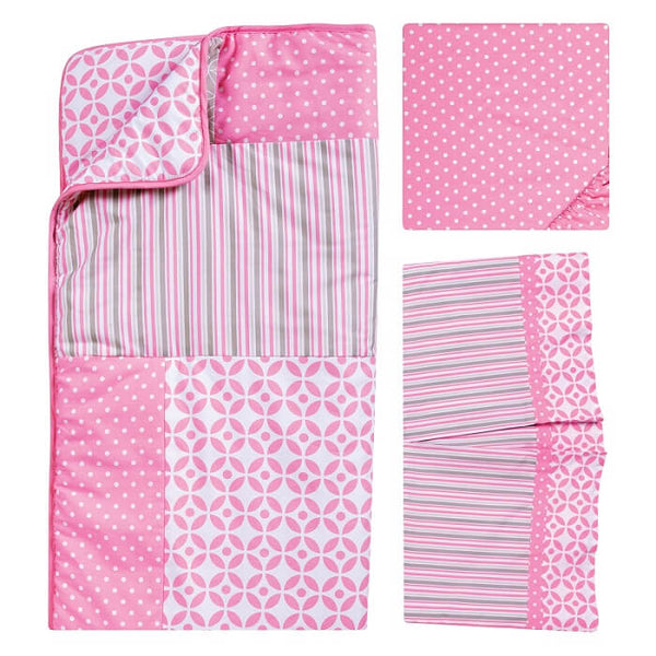 Crib Bedding Set 3 Piece - Lily - Roll Up Baby