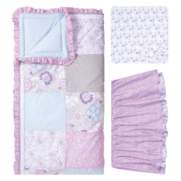 Crib Bedding Set 5 Piece - Grace - Roll Up Baby