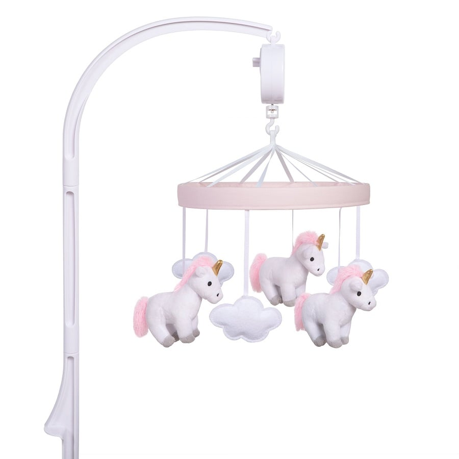 Crib Mobile by Sammy and Lou - Unicorn Musical  - Roll Up Baby