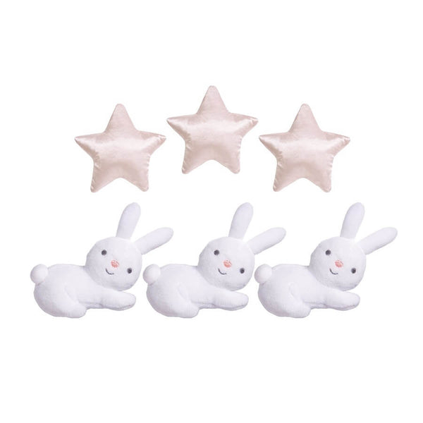Crib Mobile Cottontail Cloud - Roll Up Baby