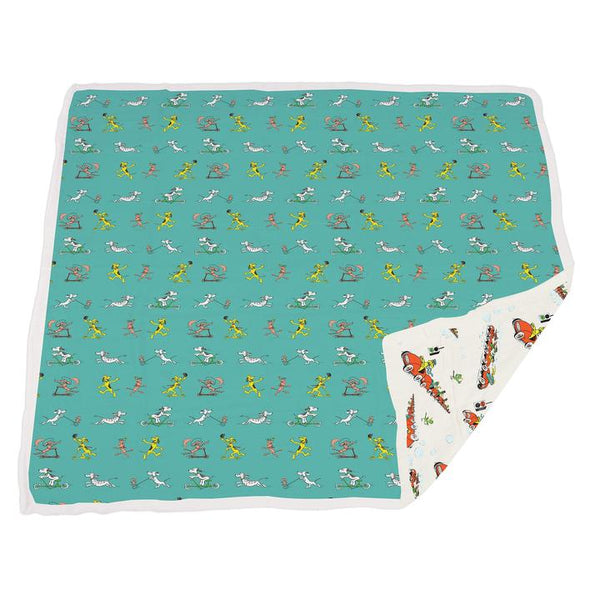 Cute Baby Blanket - Go, Dog. Go! - Roll Up Baby