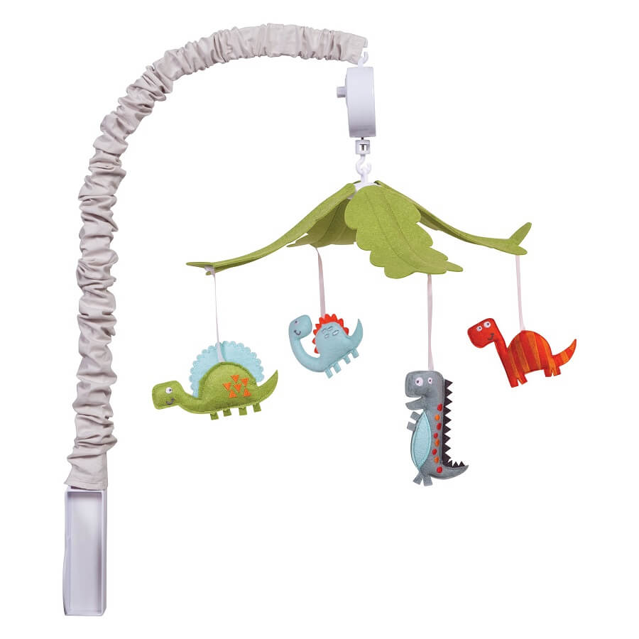 Musical Crib Mobile - Dinosaur  - Roll Up Baby