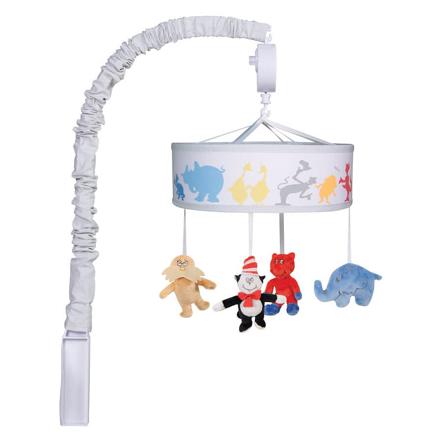 Musical Crib Mobile - Dr. Seuss™ Friends  - Roll Up Baby