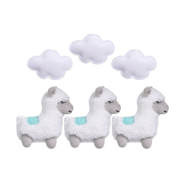 Musical Crib Mobile - Llama Mama by Sammy & Lou - Roll Up Baby