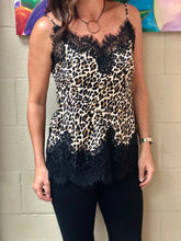Load image into Gallery viewer, Gold Hawk Leopard Cami
