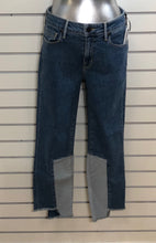 Load image into Gallery viewer, Parker Smith Paneled Sharkbite Hem Cropped Jean
