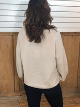 Load image into Gallery viewer, Sen Super Soft Puff Sleeve Slouchy Vneck Sweater