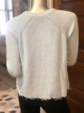 Load image into Gallery viewer, Autumn Cashmere Distressed Scallop Shaker Sweater
