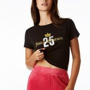 Load image into Gallery viewer, Juicy Couture 25th Anniversary Shortsleeved Cropped Tee