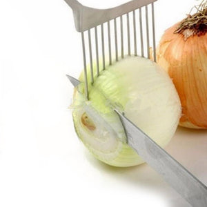 Multi-purpose Onion Cutter Stainless Steel