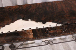 Cowhide Sofa Table