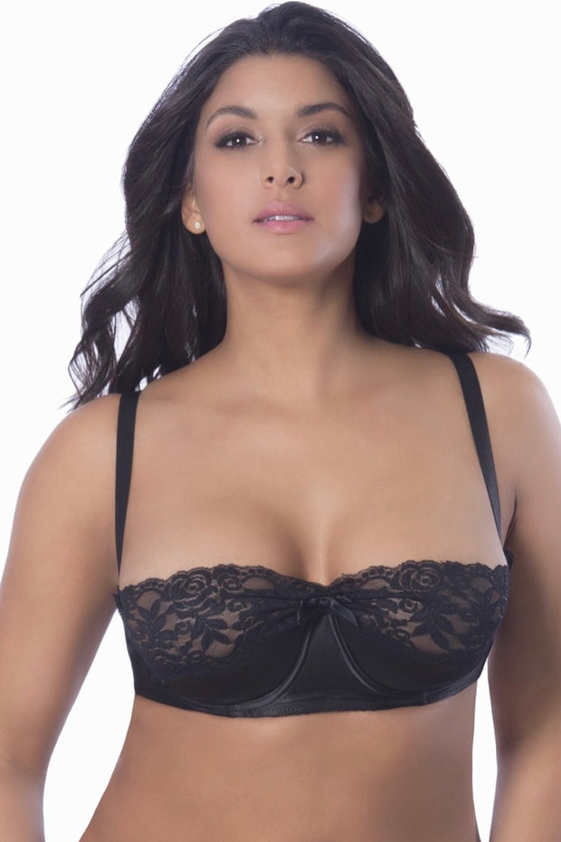Shelf bra Raquel - plus size bra set - CurvynBeautiful