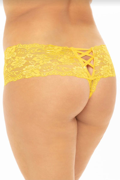 Kiss boyshort yellow