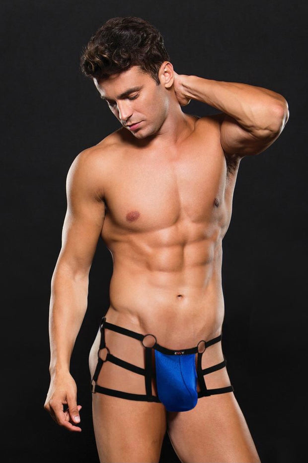 Bad boy strappy open back trunk
