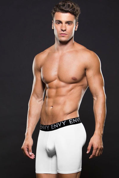 Athletic boxer white