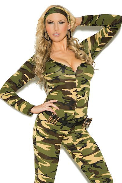 Combat Warrior - plus size costume - CurvynBeautiful