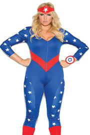 American Hero - plus size costume - CurvynBeautiful