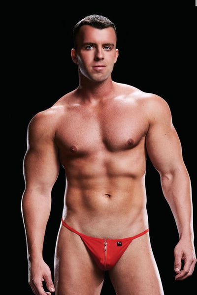Low rise g-string red