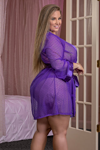 Robe purple
