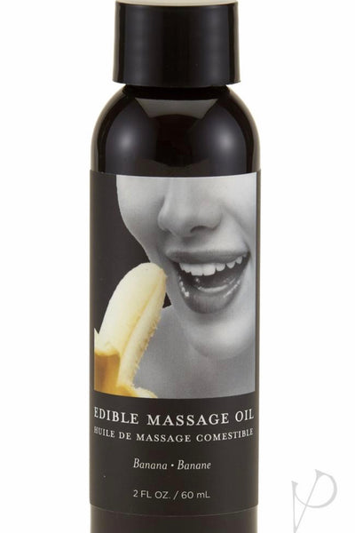 Body Edible Massage Oil Banana - Massage oil candle - CurvynBeautiful