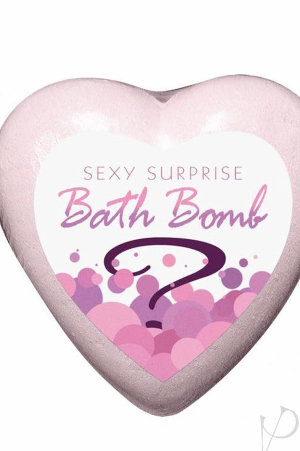 Sexy Surprise Bath Bomb Strawberry Champagne Scented - Massage oil candle - CurvynBeautiful