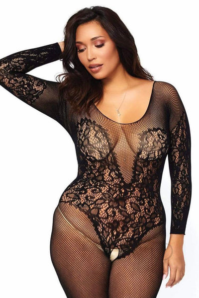Vine Lace  Bodystocking