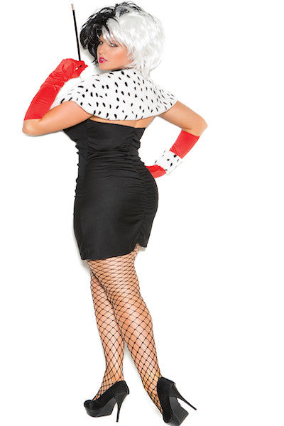 Sexy Dog Napper - plus size costume - CurvynBeautiful