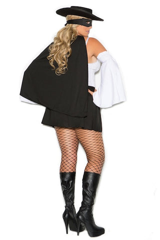 Daring Bandit - plus size costume - CurvynBeautiful
