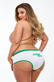 Junior mint boy short - plus size panty - CurvynBeautiful