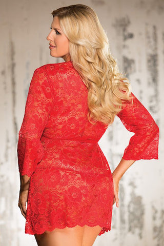 Stretch Lace ROBE