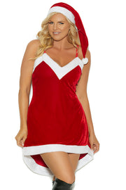 Santa's Sweetie - plus size costume - CurvynBeautiful