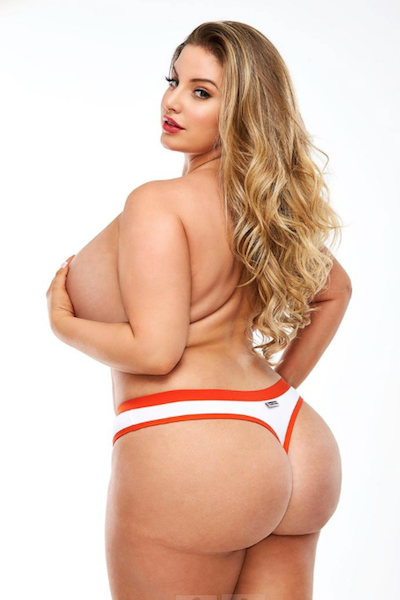 Tootsie Roll Thong - plus size panty - CurvynBeautiful