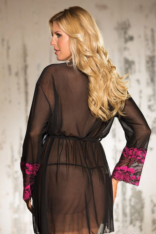 Two Tone Lace ROBE