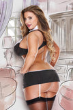 Secretary set costume - plus size costume - Curvynbeautiful Plus size lingerie - 2