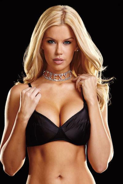 Sexy choker - Gloves-Jewels - Curvynbeautiful Plus size lingerie - 1