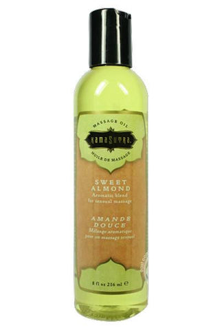 Aromatic Massage Oil Sweet Almond 8 Ounce - Massage oil candle - CurvynBeautiful