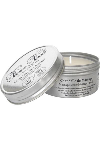 Femme Fatale Chandelle De Massage Candle Vanilla 4.2 Ounce - Massage oil candle - CurvynBeautiful