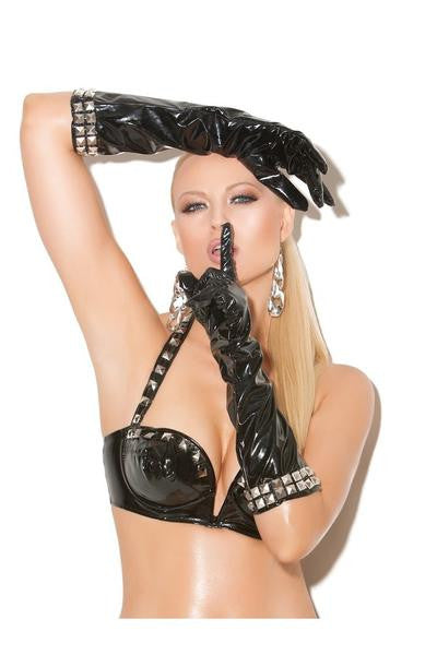 Vinyl Gloves - plus size vinyl - Curvynbeautiful Plus size lingerie - 1