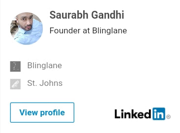 Saurabh Gandhi, Founder at Blinglane