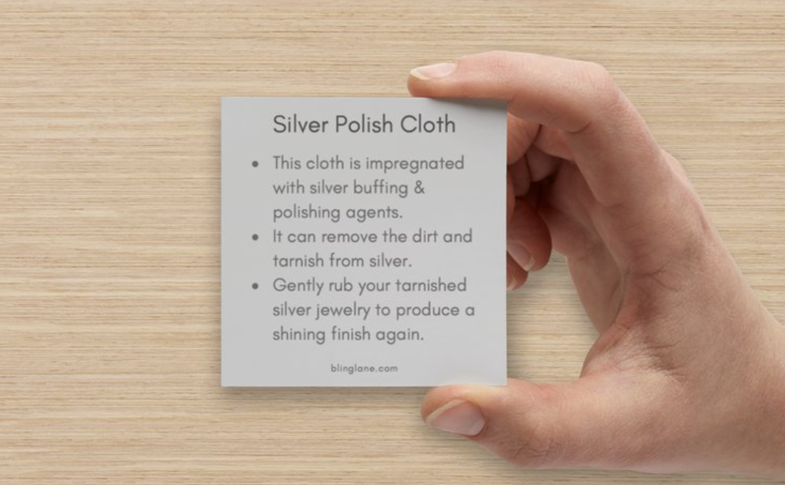 Blinglane Silver Polish Cloth