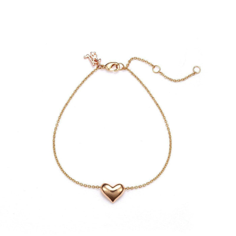 Lovely Heart Charm Elegant Fashion Bracelet
