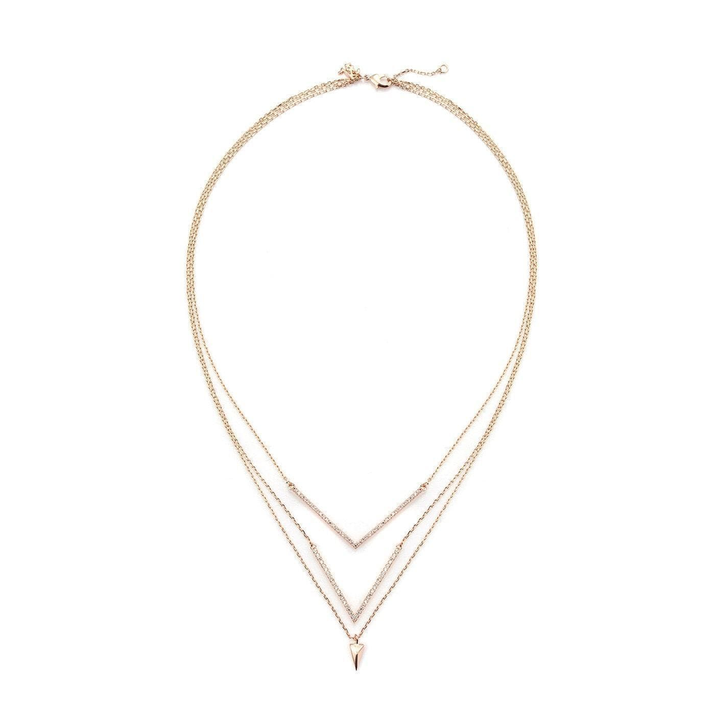 Absolute Elegance Layered Elite Neckpiece-Blinglane
