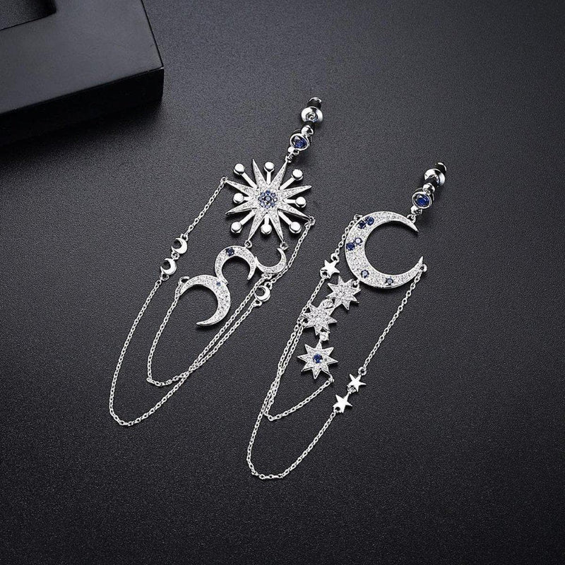 Andromeda Galaxy Elite Earrings-Blinglane