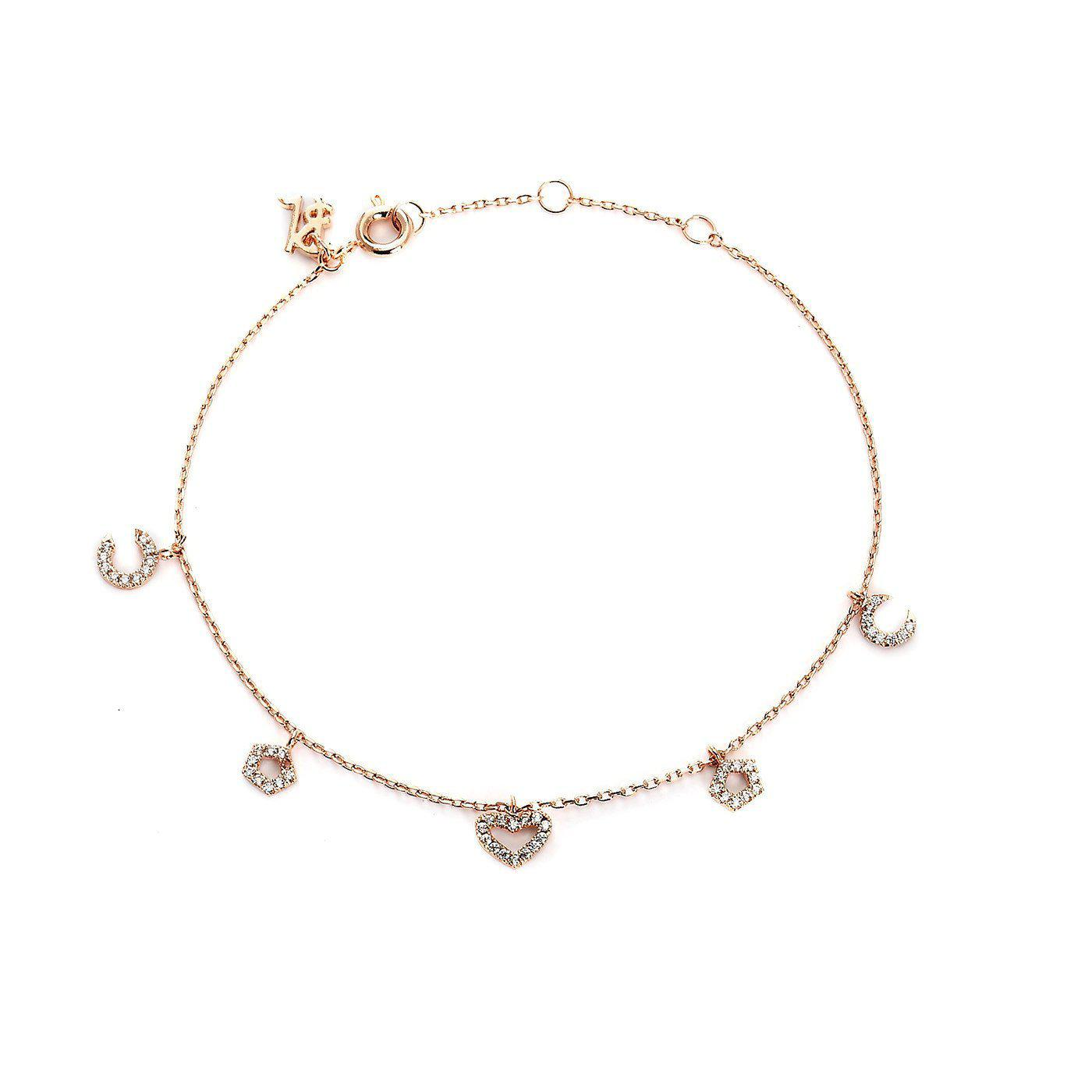 Art Hearty Charm Bracelet-Blinglane
