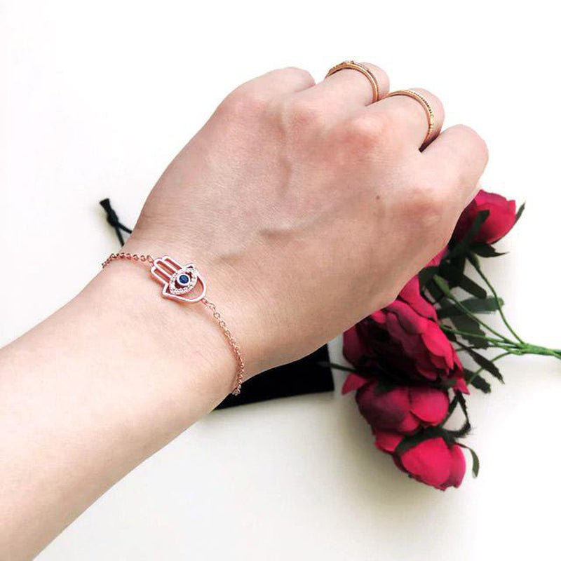 Charming Hamsa Charm Fashion Bracelet
