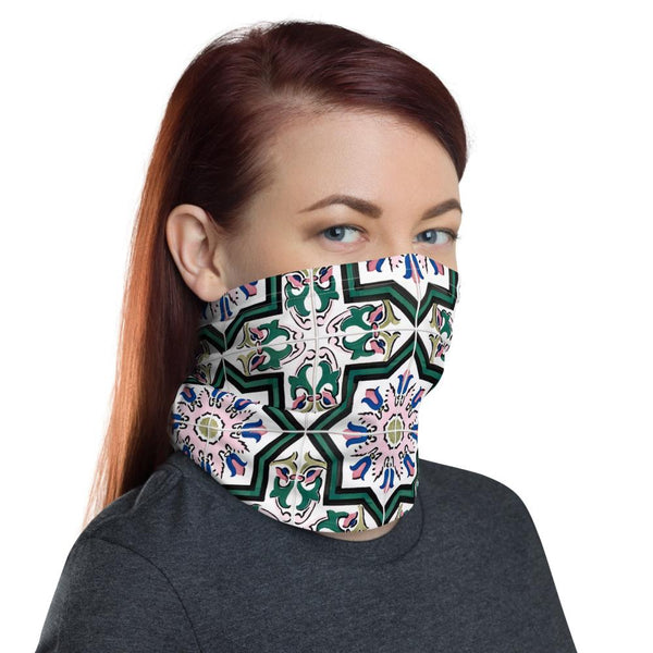 Bright Pattern Neck Gaiter-Neck Gaiters-Blinglane
