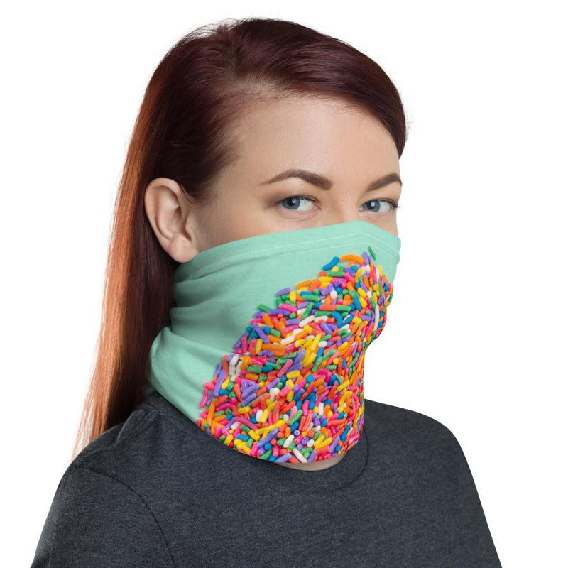Candy Cone Neck Gaiter-Neck Gaiters-Blinglane