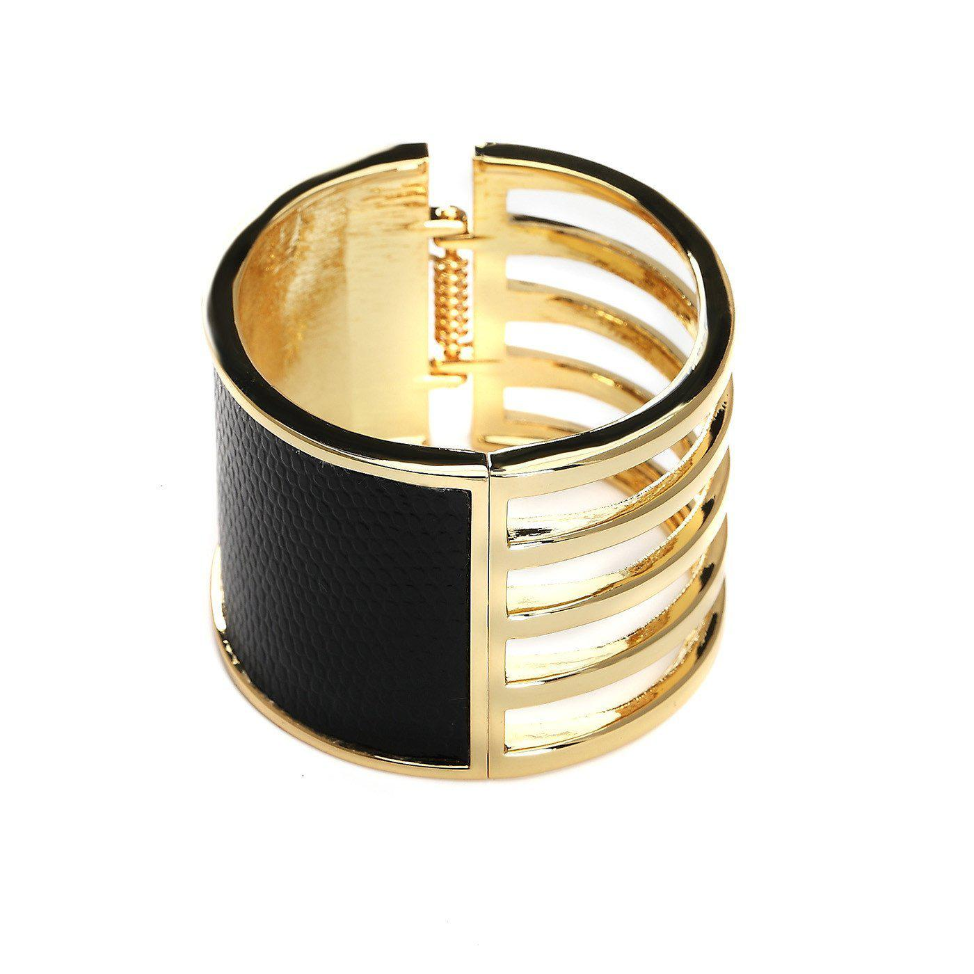 Concentric Glamour High Fashion Cuff-Blinglane