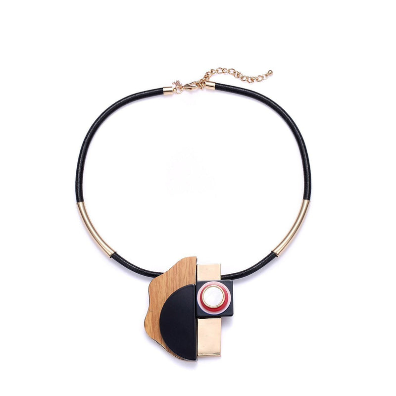 Contemporary Statement Collar Necklace-Blinglane