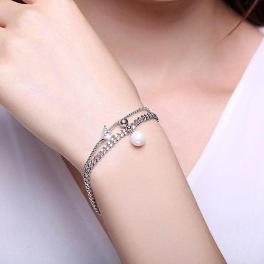 Copy of A Dash of Bling Layered Bracelet-Blinglane
